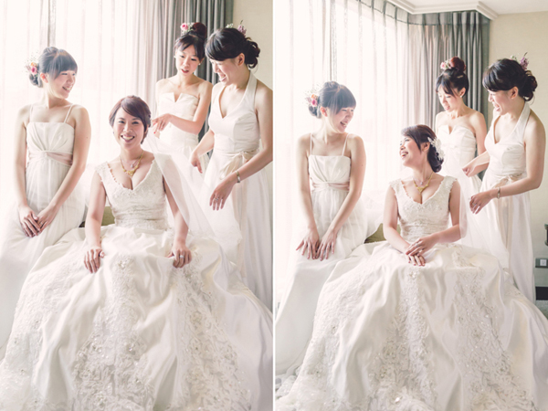 chinese Bridal party