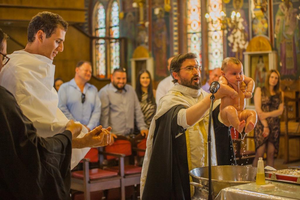 greek christening photography