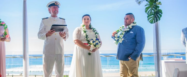 James & Douygu polynesian Style Wedding