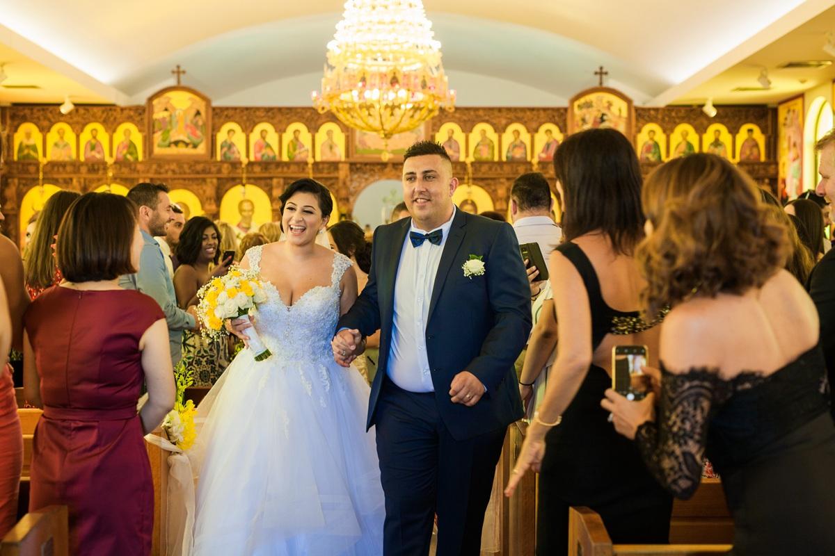 Sydney orthodox wedding photo
