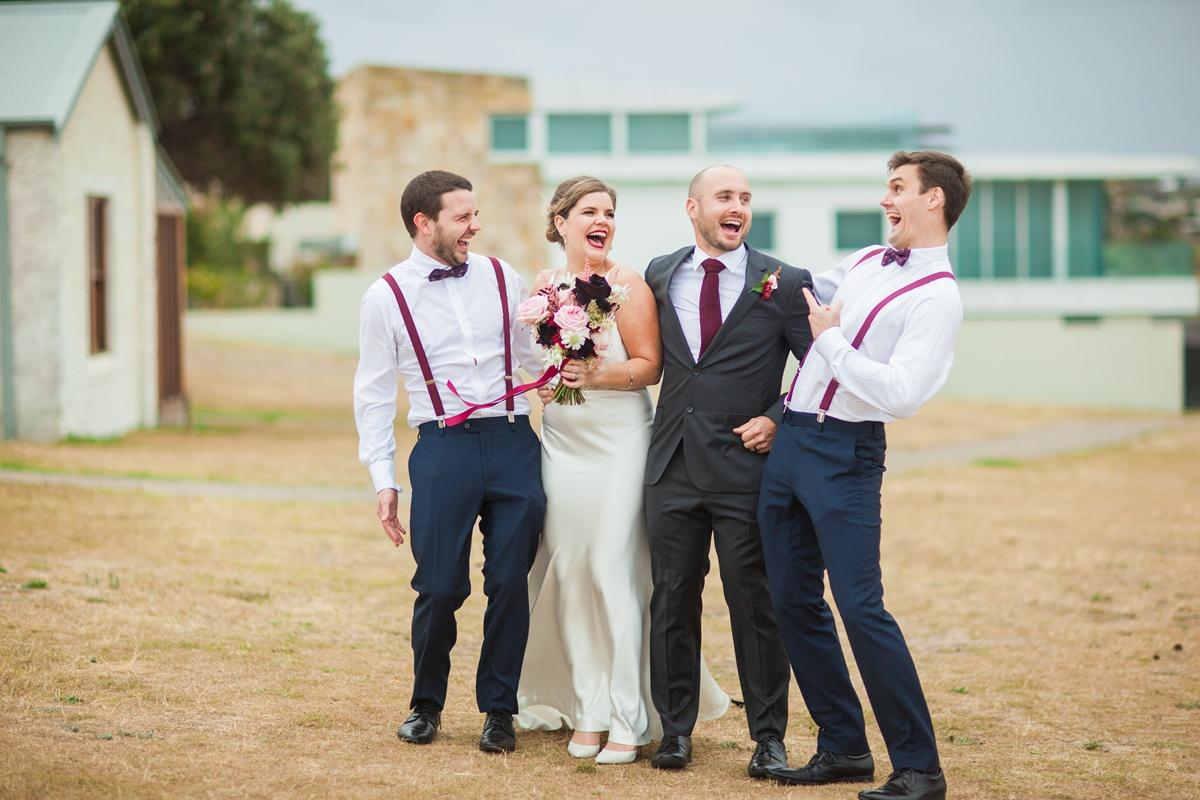 sydney little bay wedding photo