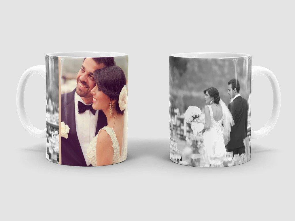 wedding photo mug