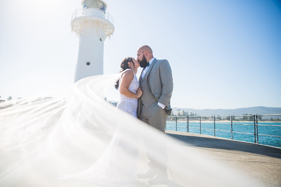 wollongong wedding photography at little lighthouse 2