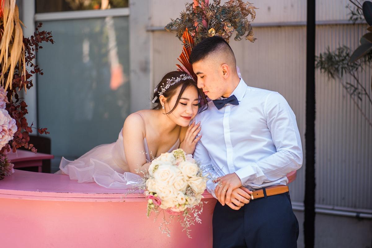 A Pre-wedding photo shoot