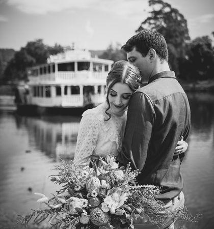 a work of sydney wedding photographer
