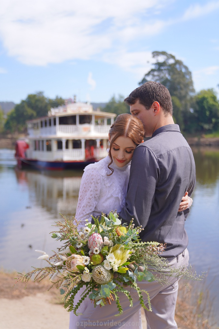 original wedding photo