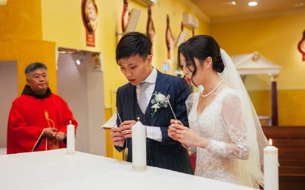 Chinese Catholic wedding sydney